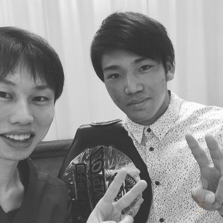 K-1 近藤魁成選手が寺澤鍼灸整骨院へお越しくださいました